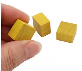 Pave 15x15x10 mm jaune