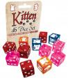 12 Dés Kitten Chats 15 mm