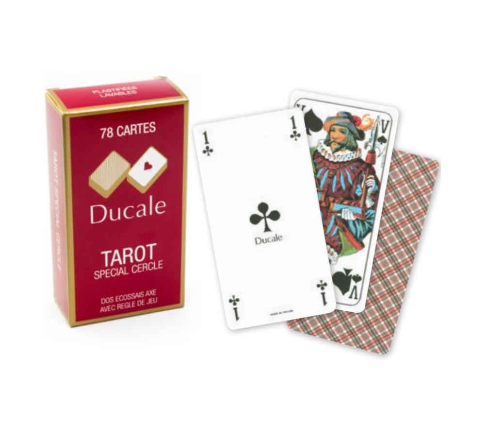 Jeu tarot Ducale 78 cartes à jouer classique