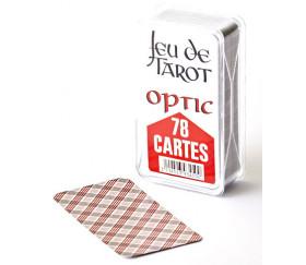 Jeu de tarot optique pour jouer sans lunettes OPTIC dans coffret cristal