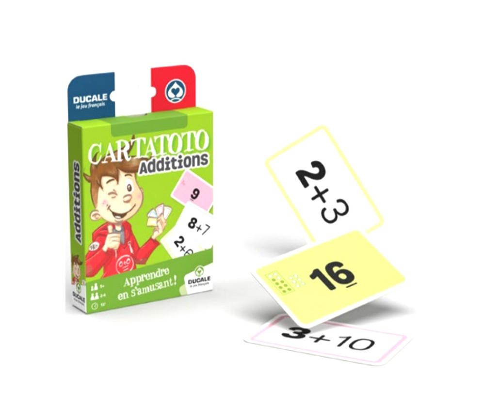 Cartatoto Additions apprendre en s'amusant 110 cartes
