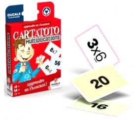 Cartatoto Multiplication apprendre en s'amusant 110 cartes