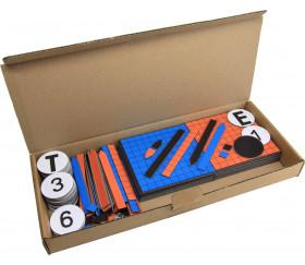 Tableau matériel magnétique pour Math 124 pièces
