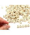 290 lettres Perles dés 8 x 8 x 8 mm pour jeu ou collier