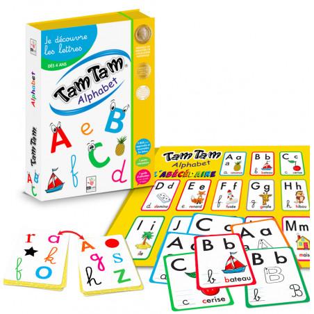 Tamtam Coffret Alphabet - découverte des lettres Ab ludis