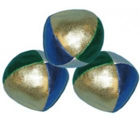 Balles de jonglage brillante lot de 3