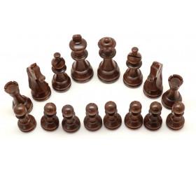 Pièces échecs bois taille 4 acacia et buis