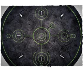 8 Ronds objectif diamètre 19 cm - jeu WH40K