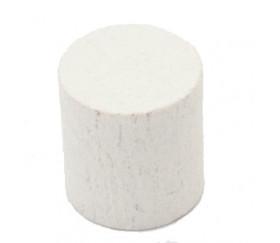 cylindre blanc en bois 15 x 13 mm