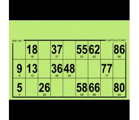 96 Cartons loto carton rigides format standard