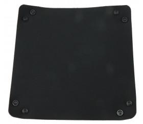 Piste dés noire basique 20 x 20 cm souple et résistante