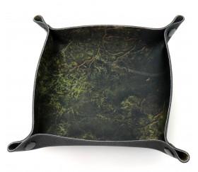 Piste de dés forêt profonde 20 x 20 cm souple et résistante