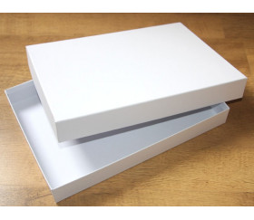 Boite jeu grand format rectangle neutre à personnaliser