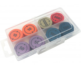 Boite 130x76x18 mm 4 compartiments vide plastique transparente