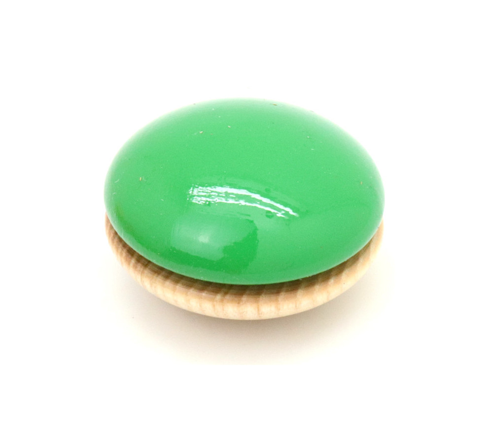 Yoyo en bois Bicolore à l'unité 5,6 cm