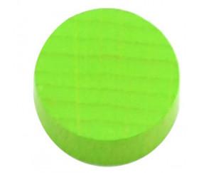 Pion palet vert clair 2.1 cm en bois pour jeu 21 x 7 mm