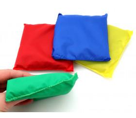 4 petits sacs à grains 12 x 11 cm