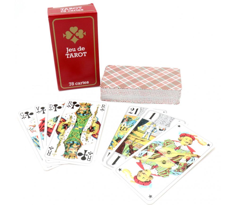 Jeu tarot 78 cartes à jouer standard pas cher