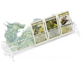 Porte cartes plexiglass dragon 26 cm