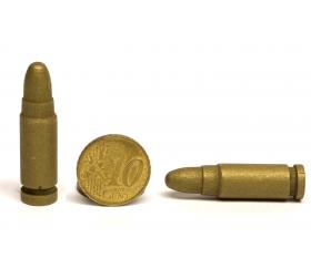 Pion en bois munition cartouche 40 x 10 mm à l'unité