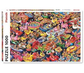 Puzzle 1000 pièces La plage  67,5 x 44 cm Piatnik