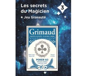 Jeu de cartes biseautées magie - Carta Magic