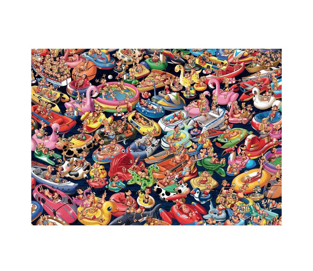 Puzzle 1000 pièces Bouées, Ruyer. La plage Piatnik