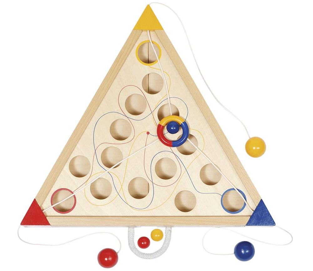 Labyrinthe coopératif en bois - Tricours jeu
