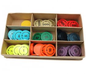 Boite carton 9 compartiments 191 x 115 x 38 mm