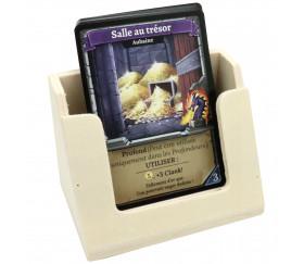 Distributeur sabot de cartes à jouer en bois 90 x 60 x 65 mm