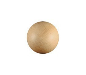 Boule bois 30 mm diamètre bille hêtre