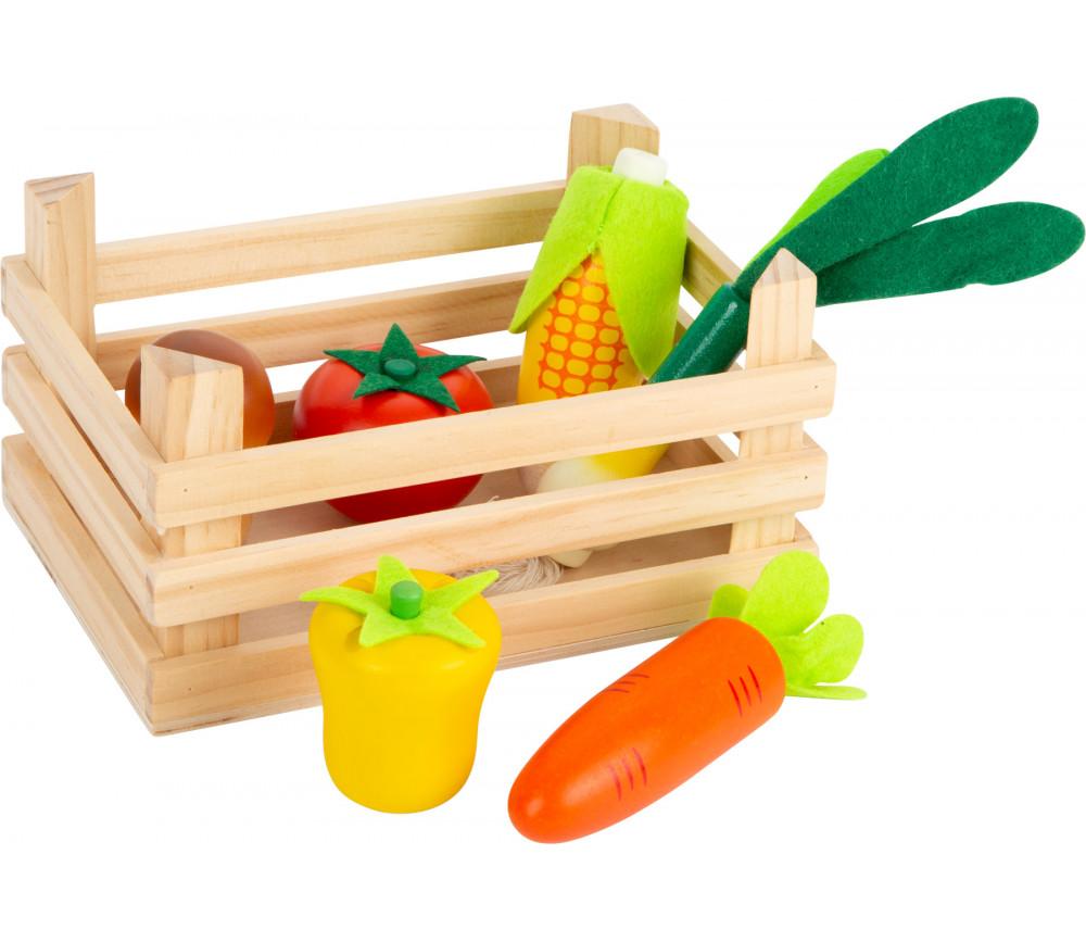 Cagette de légumes du marché