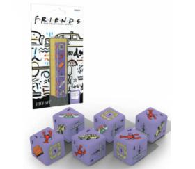 Set de 6 dés thème série télévisée F.R.I.E.N.D.S