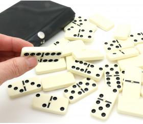 28 dominos 4.9 x 2.4 cm avec pivot