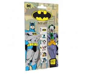 6 dés illustration Batman