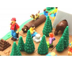 Crazy Campers - jeu casse tête évolutif avec pentamino camping