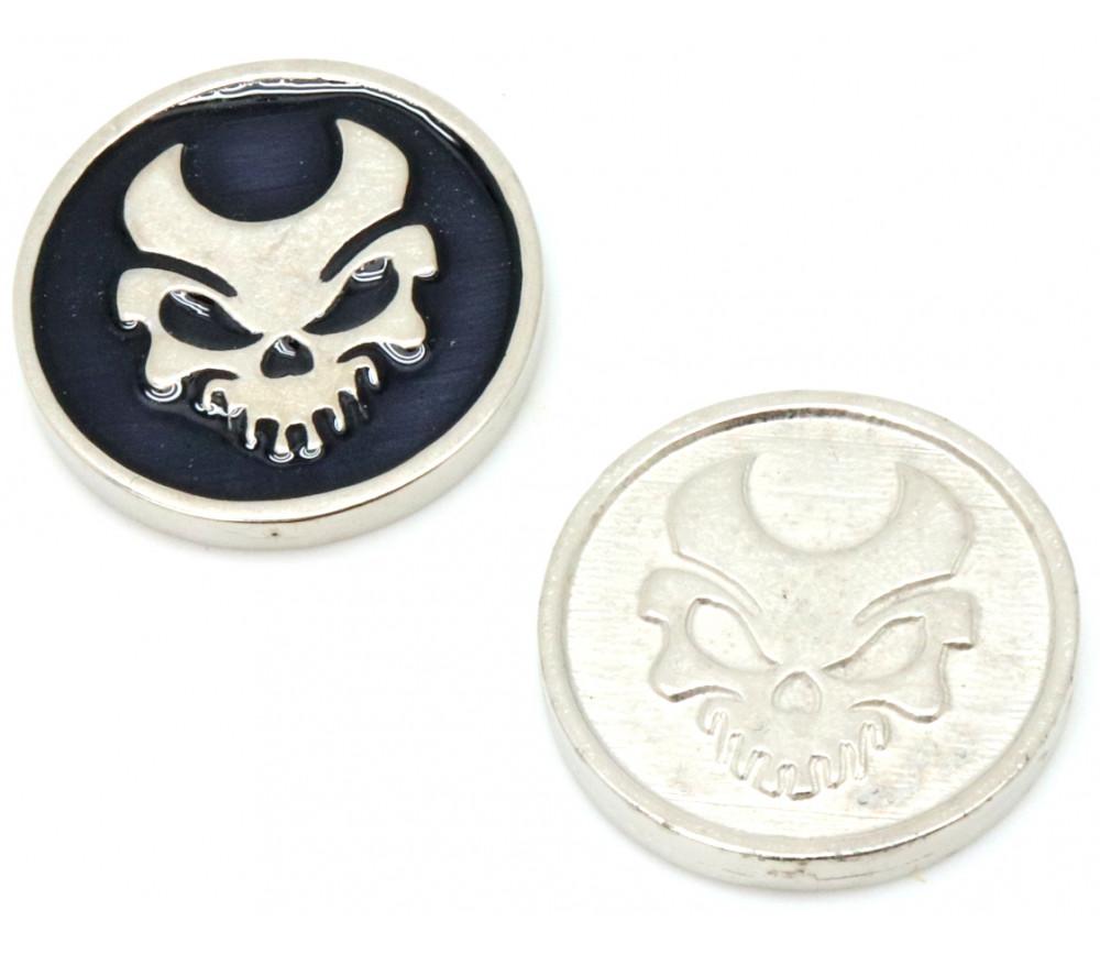 Pièce métal élément mort - Death element coin Legendary