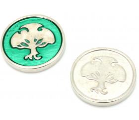 Pièce métal élément Nature - Coins element Legendary