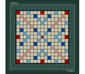 Tapis jeu 40 x 40 cm compatible Scrabble (sans pions)
