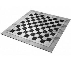 Damier tapis de jeu Dames enroulable 50x50 cm