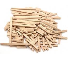 200 buchettes en bois naturel  bricolage et jeux