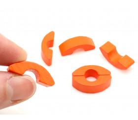 Pion petit pont orange 24 x 8 x 8 mm