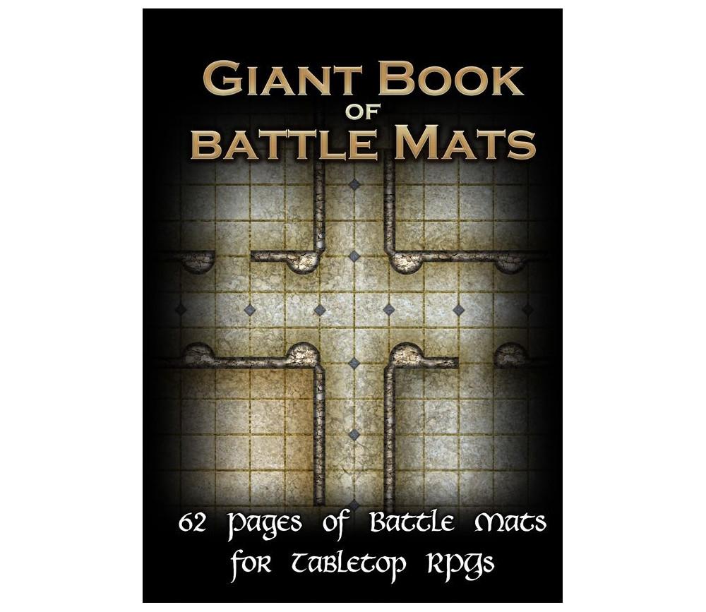 Livre plateau de jeu Giant Book of Battle Mats A3