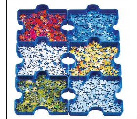 Plateaux trieurs pièces puzzle RAVENSBURGER