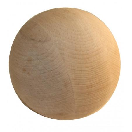 Boule 15 cm diamètre hêtre. Grosse boule bois