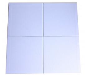 Plateau de jeux carré moyen format pliable 410 x 410 mm