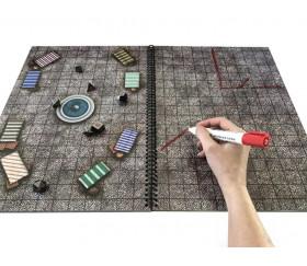 Livre A3 Battle Mats plateaux de jeu Giant Book