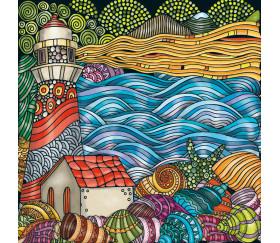 Mini puzzle 72 pièces paysage de mer design