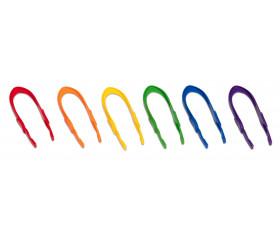 Pince plastique colorée pour jeu motricité 15 cm