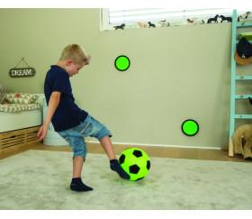 Mini jeu de foot ballon et plaques velcro
